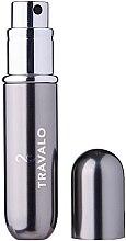 Парфюмерия и Козметика Парфюмен флакон - Travalo Classic HD Easy Fill Perfume Spray Titanium