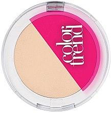 Парфюми, Парфюмерия, козметика Компактна пудра за лице - Avon Color Trend