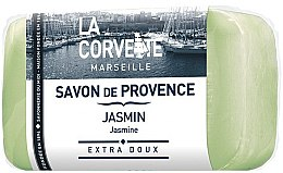 """Парфюми, Парфюмерия, козметика Провансалски сапун """"Жасмин"""" - La Corvette Provence Soap Jasmine"""