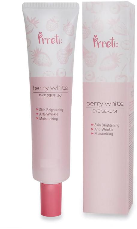 Изсветляващ серум за околоочния контур - Prreti Berry White Eye Serum