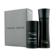 Парфюми, Парфюмерия, козметика Giorgio Armani Armani Code - Комплект (тоал. вода/75ml + део/75ml)