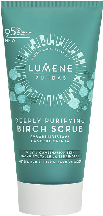 Дълбоко почистващ брезов скраб за лице - Lumene Puhdas Deeply Purifying Birch Scrub