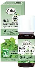 Парфюмерия и Козметика Органично етерично масло от люта мента - Galeo Organic Essential Oil Peppermint