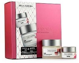 Парфюмерия и Козметика Комплект за лице - Bella Aurora Set (крем/50ml+околоочен крем/15ml)