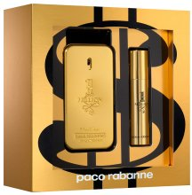 Парфюми, Парфюмерия, козметика Paco Rabanne 1 Million - Комплект (тоал. вода/50ml + тоал. вода/10ml)