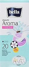 Парфюмерия и Козметика Ежедневни дамски превръзки Panty Aroma Fresh, 20 бр. - Bella