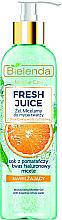 "Парфюмерия и Козметика Мицеларен гел за лице ""Портокал"" - Bielenda Fresh Juice Micellar Gel Orange"