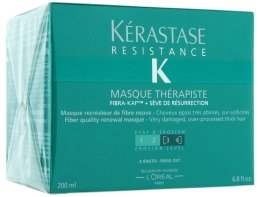 Парфюми, Парфюмерия, козметика Възстановяваща маска за много увредена коса - Kerastase Resistance Therapist Renewal Mask