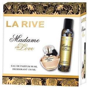 La Rive Madame In Love - Комплект парфюмна вода и дезодорант (edp/90ml + deo/150ml)