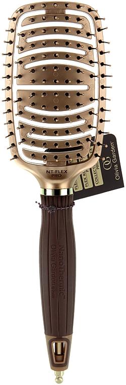 Четка - Olivia Garden NanoThermic Ceramic + Ion Flex Pro