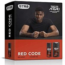 Парфюми, Парфюмерия, козметика STR8 Red Code - Комплект (deo/150ml + sh/gel/250ml)