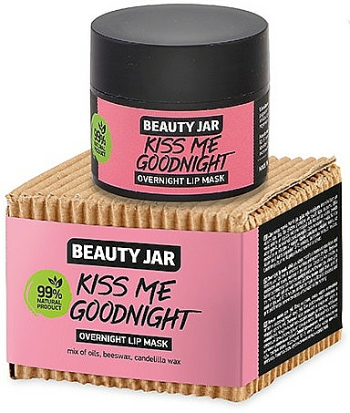 Нощна маска за устни - Beauty Jar Kiss Me Goodnight Overnight Lip Mask