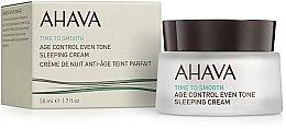 Парфюми, Парфюмерия, козметика Нощен възстановяващ крем, изравняващ тона на кожата - Ahava Age Control Even Tone Sleeping Cream