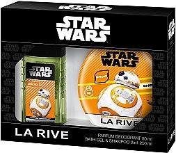 Парфюми, Парфюмерия, козметика La Rive Star Wars Droid - Комплект (спрей за тяло/80ml+душ гел 2в1/250ml)