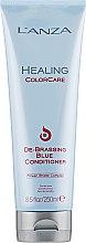 Парфюмерия и Козметика Балсам против жълти оттенъци - L'anza Healing ColorCare De-Brassing Blue Conditioner