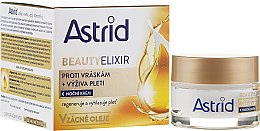 Парфюмерия и Козметика Овлажняващ нощен крем против бръчки - Astrid Moisturizing Anti-Wrinkle Day Night Cream