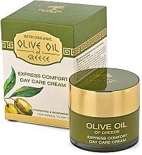 """Парфюми, Парфюмерия, козметика Дневен крем за лице """"Експрес комфорт"""" - BioFresh Olive Oil Of Greece Express Comfort Day Care Cream"""