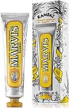 Парфюмерия и Козметика Освежаваща паста за зъби - Marvis Rambas Limited Edition Toothpaste