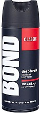 Парфюмерия и Козметика Спрей дезодорант - Bond Expert Classic Deodorant Body Spray