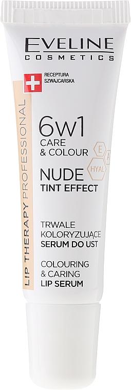 Интензивен серум за устни 6в1 - Eveline Cosmetics Lip Therapy Proffesional Tint