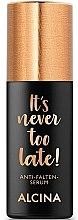 Парфюми, Парфюмерия, козметика Серум за лице против бръчки - Alcina It's Never Too Late Anti-Wrinkle Serum