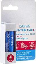 Парфюми, Парфюмерия, козметика Защитен балсам за устни, SPF20 - Floslek Winter Care Protective Lipstick