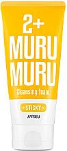 Парфюми, Парфюмерия, козметика Лепкава измиваща пяна за лице - A'pieu Sticky Muru Muru 2+ Cleansing Foam