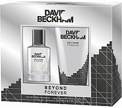 Парфюми, Парфюмерия, козметика David Beckham Beyond Forever - Комплект (тоал. вода/60ml+душ гел/200ml)