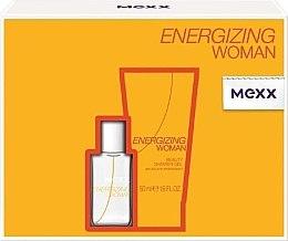 Парфюми, Парфюмерия, козметика Mexx Energizing Woman - Комплект (edt/15ml + sh/g/50ml)