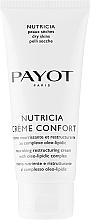Парфюмерия и Козметика Подхранващ и регенериращ крем за суха кожа - Payot Nutricia Creme Confort Nourishing & Restructuring Cream
