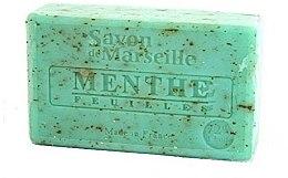 """Парфюмерия и Козметика Натурален сапун """"Листа от мента"""" - Le Chatelard 1802 Menthe Soap"""