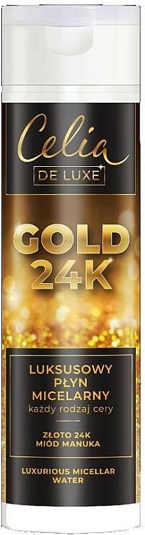 Луксозна мицеларна вода - Celia De Luxe Gold 24k