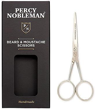 Ножица за брада и мустаци - Percy Nobleman Beard & Moustache Scissors — снимка N1