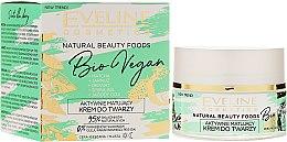 Парфюми, Парфюмерия, козметика Матиращ крем за лице - Eveline Cosmetics Natural Beauty Foods Bio Vegan
