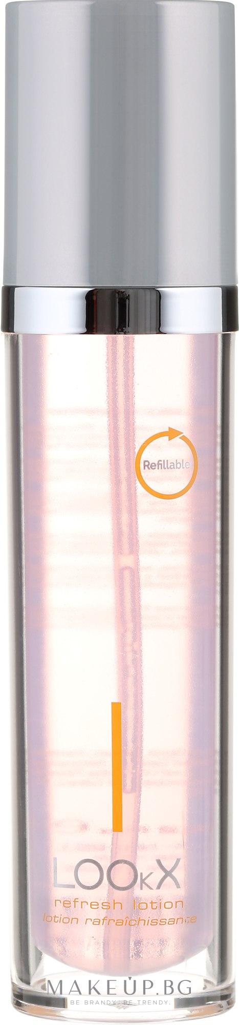 Почистващ лосион за лице - LOOkX Refresh Lotion — снимка 120 ml