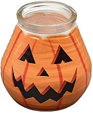 "Парфюмерия и Козметика Декоративна свещ в буркан ""Patiolight Pumpkin"", 94/91 мм - Bolsius Candle"