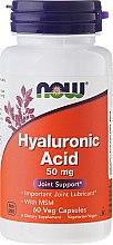 Парфюми, Парфюмерия, козметика Хиалуронова киселина на капсули - Now Foods Hyaluronic Acid 50 mg