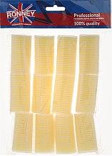 Парфюми, Парфюмерия, козметика Бигуди на липучке 32/63мм, светло-желтые - Ronney Professional Velcro Roller