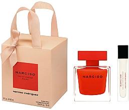 Парфюмерия и Козметика Narciso Rodriguez Narciso Rouge - Комплект (парф. вода/90ml + парф. вода/мини/10ml)