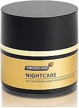Парфюми, Парфюмерия, козметика Нощен подмладяващ крем за лице Swisscare - NightCare