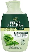 Парфюмерия и Козметика Течен сапун за интимна хигиена - Felce Azzurra BIO Aloe Vera&Green Tea