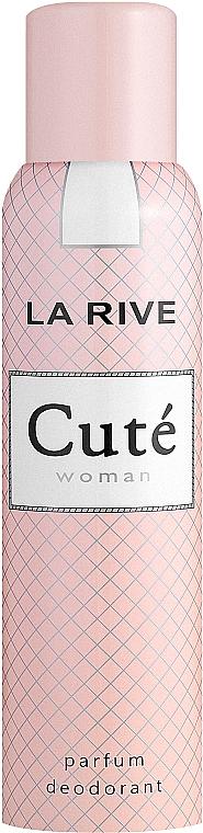 La Rive Cute Woman - Комплект (парф. вода/100ml + дезодорант/150ml) — снимка N3