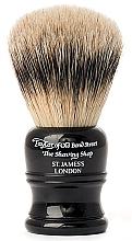 Парфюмерия и Козметика Четка за бръснене, SH2B черна - Taylor of Old Bond Street Shaving Brush Super Badger Size M