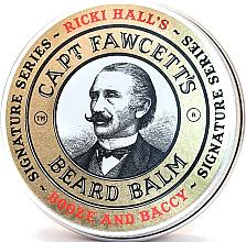 Парфюми, Парфюмерия, козметика Балсам за брада - Captain Fawcett Ricki Hall Booze & Baccy Beard Balm
