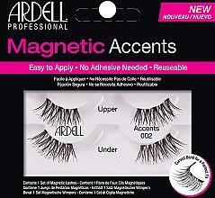 Парфюмерия и Козметика Изкуствени магнитни мигли - Ardell Magnetic Lashes Accents 002