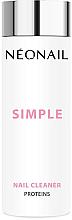 Парфюмерия и Козметика Обезмаслител за нокти - NeoNail Professional Simple Nail Cleaner Proteins