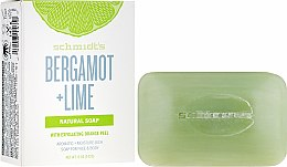 Парфюмерия и Козметика Сапун с бергамот и лайм - Schmidt's Naturals Bar Soap Bergamot Lime