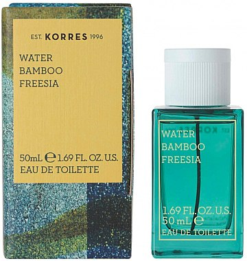 Korres Water Bamboo Freesia - Тоалетна вода