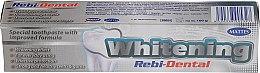 Парфюмерия и Козметика Избелваща паста за зъби - Mattes Rebi-Dental Whitening Toothpaste