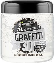 Парфюмерия и Козметика Гел за коса - Bielenda GRAFFITI 3D Extra Strong Stayling Hair Gel